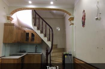 Cần bán nhà 4 tầng ở ngõ 282 Kim Giang, sổ đỏ chính chủ 32m2, sử dụng 95m2