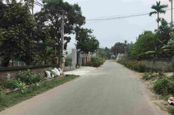 Bán đất mặt đường nhựa xã Tản Lĩnh, đã có sổ đỏ và tường bao quanh, khu dân cư đông đúc dân trí cao