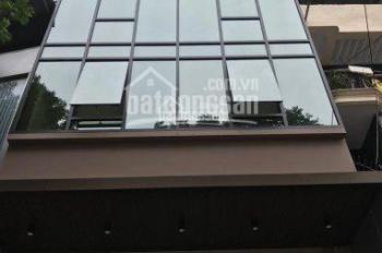 Bán nhà phố Dịch Vọng Hậu 147m2 x 7tầng, 1 hầm mặt tiền 8.2m mặt vườn hoa, giá 49 tỷ - 0977434515