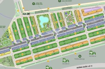 Phúc An Garden cần bán lô C2 - 28 hướng Đông Nam diện tích 75m2, giá bán 670 triệu