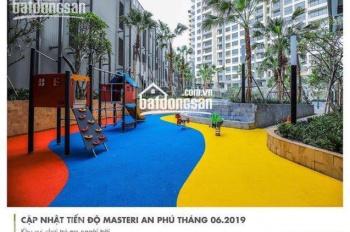Hot! Cần cho thuê gấp CH Masteri An Phú, Q2, 99m2, 3PN, view thoáng, nhà đẹp, giá rẻ chỉ 21tr