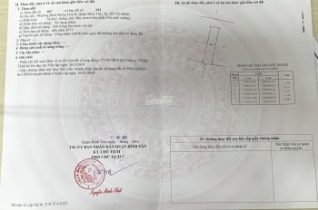 Đất nền biệt thự + vườn 4 MTNB 7m Quốc Lộ 1A, P. Bình Hưng Hòa B, Bình Tân