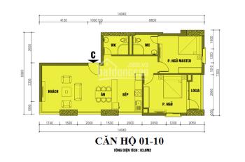 Bán căn hộ chung cư ở Cầu Bươu giá rẻ, có sổ đỏ. LH: 0904 765 839