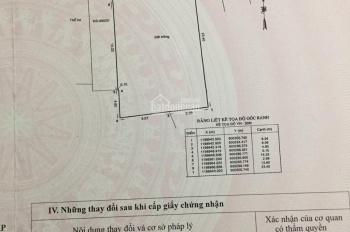 Bán nhà P16, Gò Vấp, hẻm 6m, DT 316m2, 60tr/m2. Bớt lộc