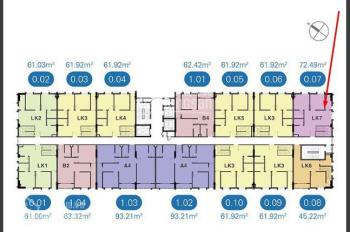 Bán shophouse lô góc 2 mặt tiền, đang cho thuê 20 triệu/tháng, cao ốc SGCC - Bình Quới 2, Thanh Đa