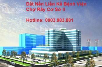 Mở Bán Giai Đoạn F1 đất nền Khu Đô Thị Xanh Central Park Đối Diện Bệnh Viện Chợ Rẫy II, 0903.983881