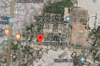 Cần tiền bán lô đất đối diện Trung tâm sát hạch lái xe ôtô Quảng Nam