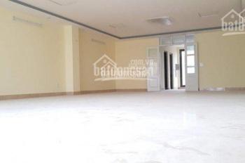 Cho thuê sàn văn phòng lớn 110m2 và 130m2 mặt phố Hoàng Ngân mặt tiền 10m lô góc cực chuẩn miễn DV