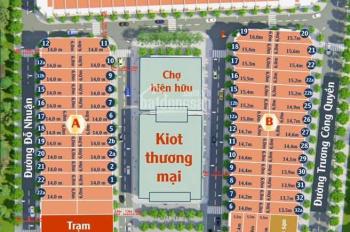 Chỉ tu 900tr sở hữu ngay lô đất thổ cư từ 84 - 95m2 thích hợp xây shophouse LH 0931417185
