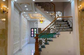 Bán nhà 1 trệt 3 lầu, nhà mới 100%, HXH đg 22  Linh Đông, Thủ Đức, Cách Phạm Văn Đồng 300m. SHR