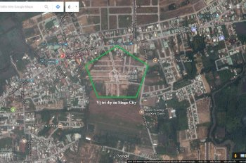 Kẹt tiền bán gấp lô đất dự án Singa City Kim Oanh. MT 12m, 90m2 gần trường học, Trung tâm y tế