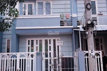 Bán nhà 1 trệt, 1 lầu mặt tiền Quốc Lộ 50, xã Quy Đức, Bình Chánh, DT 5x16m, sổ hồng riêng