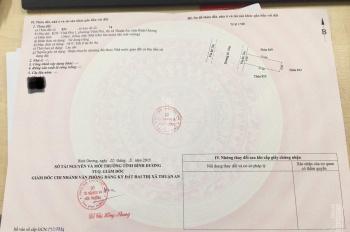 Bán lô đất KDC Vĩnh Phú 1, 6x20m, 123m2, thổ cư 100%, HXH, Thuận An, Bình Dương