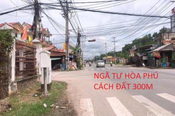 Bán đất mặt tiền Bến Than , ngay chợ Hòa Phú 1 tỷ 350