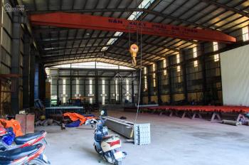 Cho thuê nhà xưởng tại Sơn Tây, Hà Nội, 1800m2 khuôn viên 3320m2 (ảnh thật)