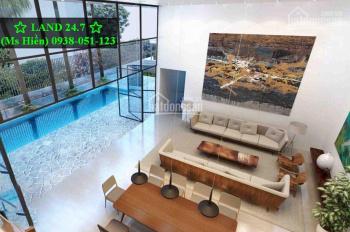 Cho thuê villa hồ bơi sân vườn (3 lầu DTSD 900m2) Thảo Điền, LH: 0938 05 11 23