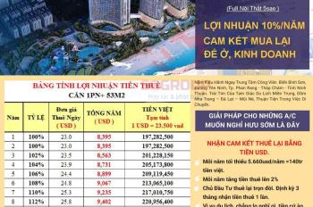 Sunbay Park - cam kết lợi nhuận bằng tiền USD cho các nhà đầu tư - NH MBBank bảo lãnh lợi nhuận