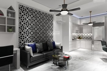 Định cư nước ngoài, cần bán gấp căn hộ full nội thất ngay lầu 1 Lô B, CC Trần Quang Diệu, P13, Q3