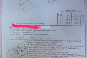 Bán đất đẹp đầu hẻm 888 phường 11 - TP Vũng Tàu. LH.0986.545.878