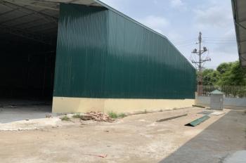 Chính chủ cho thuê mặt bằng kho xưởng tại khu công nghiệp Thạch Thất, Quốc Oai.