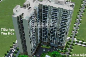 Suất ngoại giao chung cư cao cấp E2 Yên Hòa, kí hợp đồng CĐT, vay 70%, T3/2020 nhận nhà. 0336991888