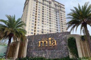 Chính chủ sang căn 65m2 Sài Gòn Mia 2PN, 2.6 tỷ, bao thuế phí hoàn thiện NT, tầng cao, 0931230064