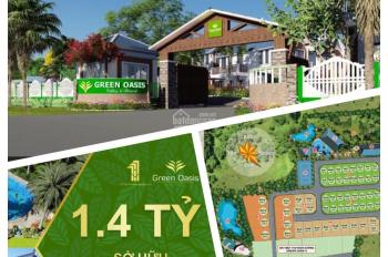 Chỉ 1,4 tỷ/ lô - cả đất, cả nhà, full nội thất - lợi nhuận 10% - 1 năm Green Oasis Villas