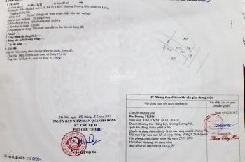 Chính chủ bán lô đất dịch vụ hướng đông nam khu LK31, Dương Nội LH: 036.730.0493