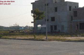 Bán lô đất khu dân cư Số 3 Đức Thắng, Hiệp Hòa, Bắc Giang: Lô góc 2 mặt tiền trục đường hàng dừa