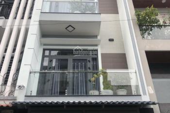 Bán nhà mới HXH 10m, DT: 4.2m x 19m, trệt 2 lầu sân thượng, LH: 0949 474 974