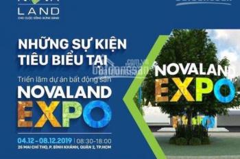 Sự kiện Novaland Expo 2019 mở bán đợt cuối River Gate Q4 chiết khấu cao nhất+ quà tri ân 0938995831