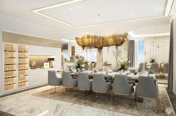 Cho thuê gấp căn hộ penthouse Vinhomes 4PN nội thất Châu Âu view sông 300m2 LH 0977771919