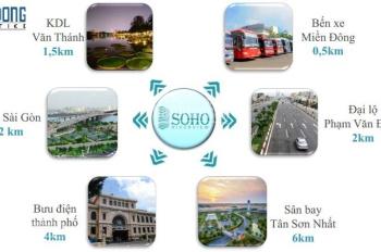 Cho thuê văn phòng SGCC Building, Xô Viết Nghệ Tĩnh, quận Bình Thạnh, DT 130m2, giá 40.3tr/tháng