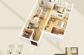 Cần bán cắt lỗ căn hộ 83.6m2, giá 2,29 tỷ, liên hệ 097.381.7255
