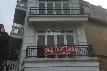 Cho thuê nhà riêng ở Thái Hà, DT 75m2*4 tầng, MT 4m, thiết kế tầng 1 thông sàn, KD, giá 30tr/th