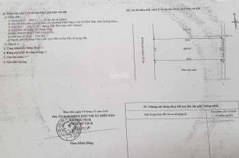 Chính chủ cần ra đi vài lô đất nền khu đô thị 2A ngay trung tâm Điện Ngọc