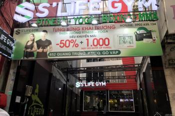 Cần bán toà nhà Building Văn Phòng Quang Trung, Q. Gò Vấp, 14.3*40.2, hầm, 7 tầng. HĐT 400tr/th