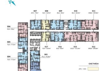 Bán căn 2 phòng ngủ 54m2 giá 2,3 tỷ nội thất full liền tường cao cấp dự án Mipec 122 Xuân Thủy