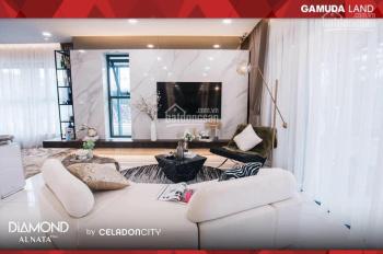 Bán căn hộ Tower khu Diamond Alnata Plus, view đại lộ giá tốt cho khách ở hay đầu tư