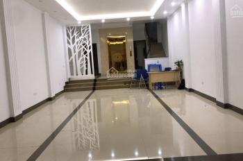 Nhà vừa hoàn thiện phố Nguyễn Khang 100m2 x 7 tầng, mặt tiền 7m. LH 0967913189