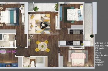 PKD - Văn Phú, trực tiếp bán căn hộ Terra An Hưng 1,531 tỷ, full nội thất, đã có VAT + KPBT