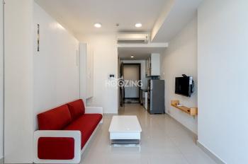 Cần cho thuê căn hộ 1 phòng ngủ tại River Gate, Quận 4. Giá 12,65tr/tháng. Miễn phí dịch vụ