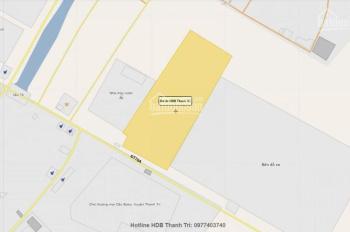 Dự án liền kề Thanh Trì cách KĐT Đại Thanh 1km, mặt đường 70. giá chỉ từ 55tr/m2.LH 0962 643 596