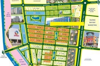 Cho thuê nhà mặt tiền đường Nguyễn Thị Thập, khu dân cư Him Lam Kênh Tẻ, P. Tân Hưng, Quận 7