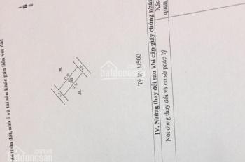 Chính chủ cần bán đất gần chợ Hà Đông DT 42m,MT 3.31m, cách đường ôtô 10m,giá 2.5 tỷ TL,0904773565