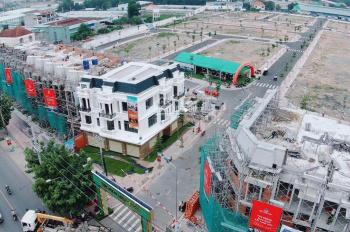 Cần bán lô góc MT chợ 32m TX Thuận An, Bình Dương, DT 4x16 m, LH 0906 637 234