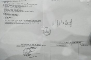 Bán đất chính chủ, TT Phường Tân Phước Khánh. DT 4x18m TC full, giá chỉ 1.43 tỷ đường nhựa thông