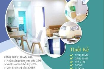 980tr căn 40m2 (đã VAT+2%BT) căn hộ Phúc Đạt connect bàn giao 31.12.2019