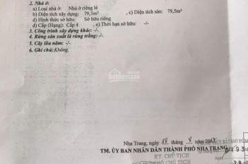 Bán đất Lam Sơn, Nha Trang thích hợp xây khách sạn