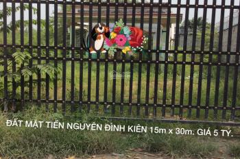 Bán Đất + Nhà Mặt Tiền Đường Nguyễn Đình Kiên 450m Giá 5 Tỷ, 0916226697.